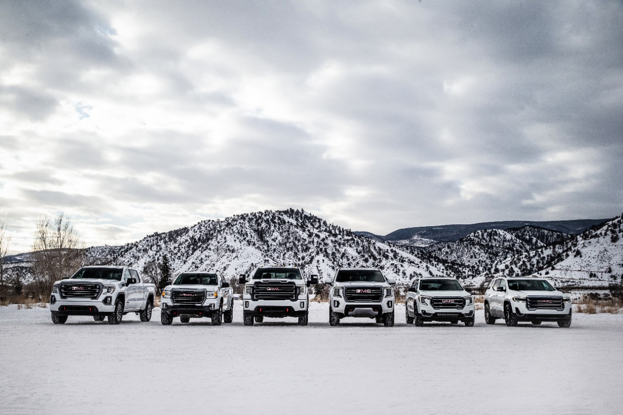 A Closer Look at the 2021 GMC AT4 lineup