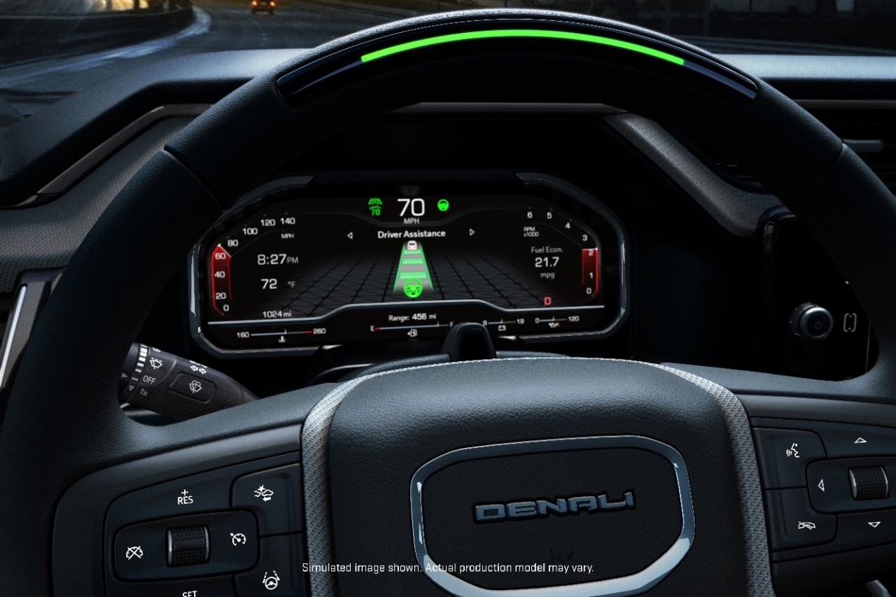 GMC Denali Super Cruise On The 2022 Sierra 1500 Denali